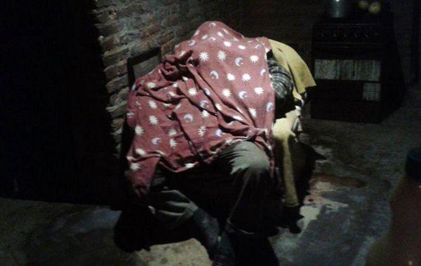 El cuerpo sin vida de Albino estuvo tres días en un sillón. (foto Twitter @Canal5deRosario)