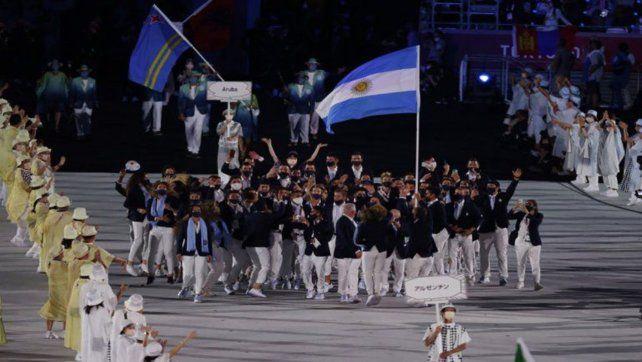Argentinos. Los atletas hicieron un enorme esfuerzo por estar en Tokio 2020 a pesar de todas las limitaciones