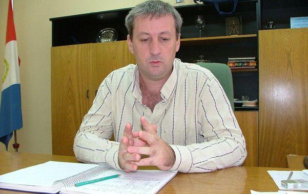 Herencia. El presidente comunal se sintió molesto y recordó que el accidente fue en otra gestión.