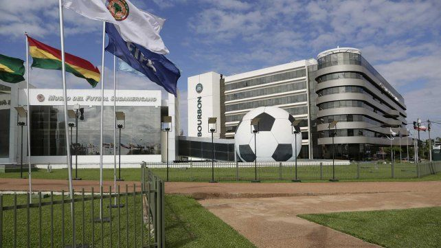 La sede de la Conmebol en Luque