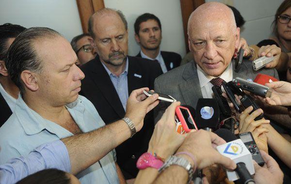 El gobernador valoró la vuelta de Gendarmería a la provincia