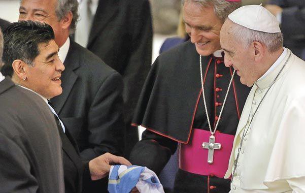 El primer hincha del Papa