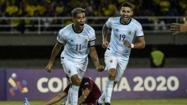 Zaracho, feliz con la selección argentina sub 23