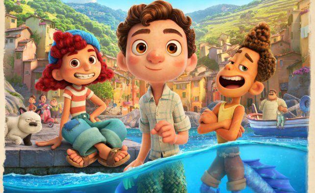 Luca, lo nuevo de Pixar, una aventura con amigos raros