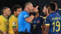 La Federación de Colombia pidió la suspensión de Pitana