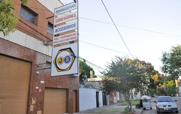 La planta. La metalúrgica ocupa tres propiedades de Balcarce al 2900. (foto: Francisco Guillén)