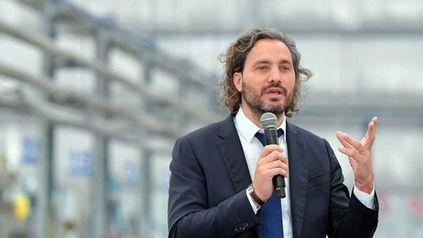 Santiago Cafiero defendió la continuidad del gabinete y se quejó de los medios.
