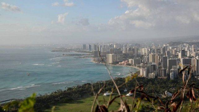 El incidente aéreo se produjo frente a Honolulu
