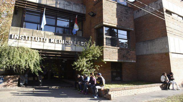 La autopsia se realizó en el Instituto Médico Legal (IML).