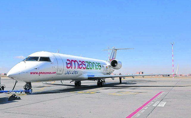 desembarco habilitado. La empresa que absorbió aviones de Air Buquebus con capacidad para unos 72 asientos.