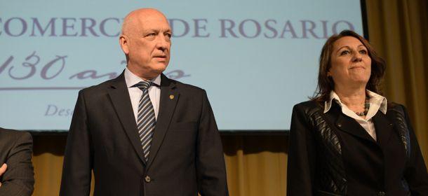 Bonfatti avaló a Fein para la reelección en Rosario.