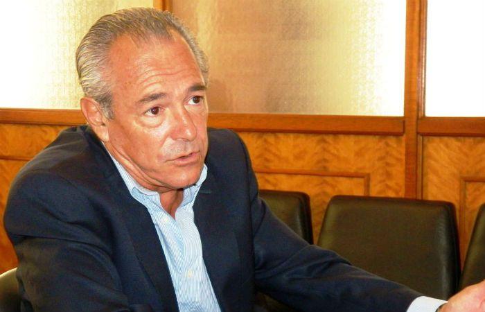 Firme. El ex intendente de la ciudad de Santa Fe defendió la construcción política nacional con Cambiemos.