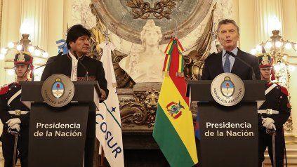 Morales cuestionó a Macri, quien la semana pasada fue imputado como responsable de supuesto contrabando agravado de armas.