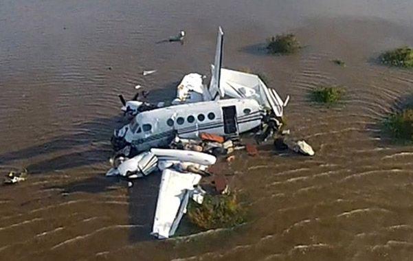 El avión Beechcraft despegó cerca de las 12.30 del martes para realizar un viaje de apenas 15 minutos