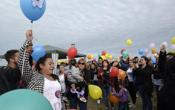 Los globos del dolor. Las ONGs Era en Abril y Trombofilia y Embarazo realizaron una jornada de concientización.