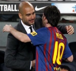Messi le dedicó el triunfo y sus cuatro goles al técnico del Barça