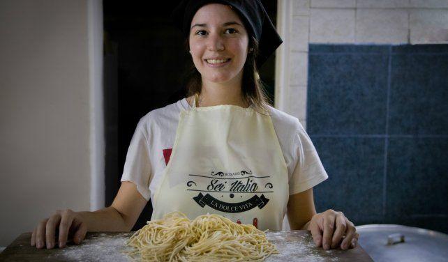 Hay spaghetti, otras pastas, carnes y postres en el menú de las agrupaciones integradas al Sei Italia. (Foto: Gentileza Sei Italia)