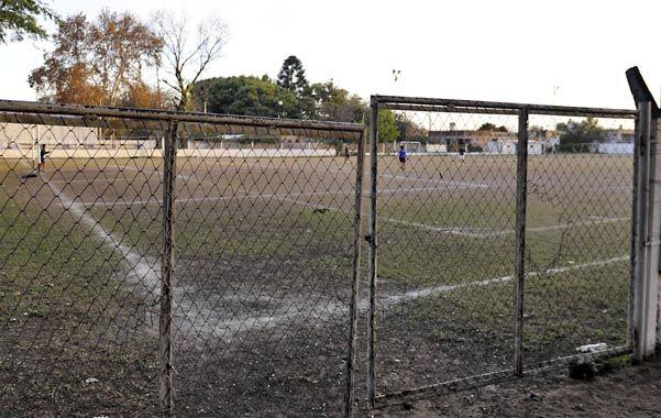 Los lotes donde funciona la escuelita de fútbol del club Tiro Federal Argentino serán afectados al plan Procear.
