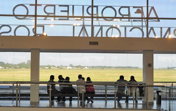 Esperando más vuelos. Frente a la llegada del Dakar a Rosario