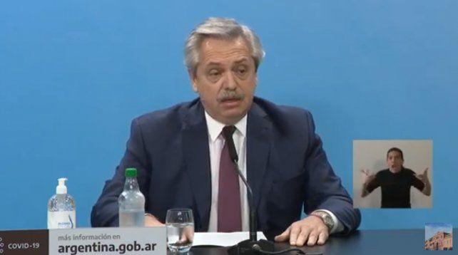 El presidente Fernández anunció la intervención de la empresa cerealera Vicentín