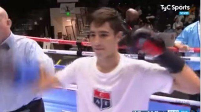 El joven boxeador de Arroyo Seco