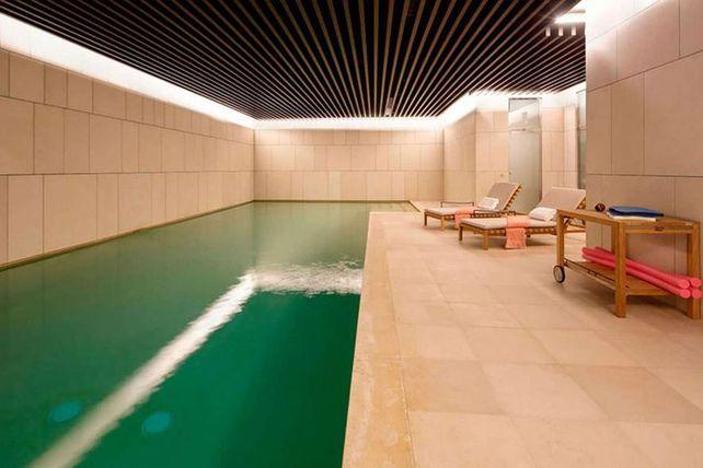 La piscina climatizada, una de las condiciones.