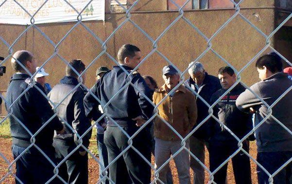 Procedimiento. El 12 de este mes la policía fue a desalojar la fábrica por orden judicial
