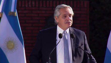 Fernández: Vamos a seguir trabajando para que se terminen las diferencias