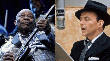 El blues y el jazz recuerdan a dos grandes: Sinatra y B.B King