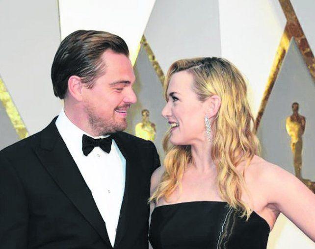Subastan cena con Kate Winslet y Leonardo DiCaprio