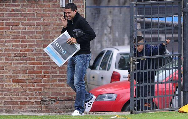 Riquelme dijo que se prepará de la mejor manera para ser presidente de Boca