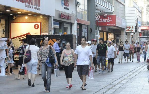 Consumo. La actividad económica es clave para la recaudación provincial.