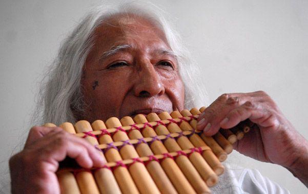 Uña ramos. El compositor e instrumentista de música andina tenía 80 años.