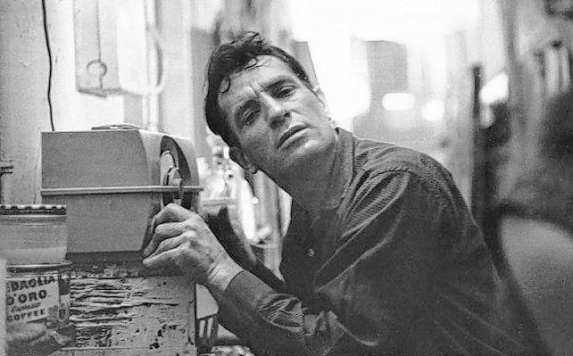 El gran escritor norteamericano Jack Kerouac (1922-1969).