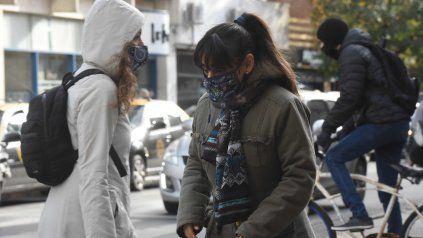 El tiempo en Rosario: llegó un frente polar y el frío intenso se instalará durante toda la semana