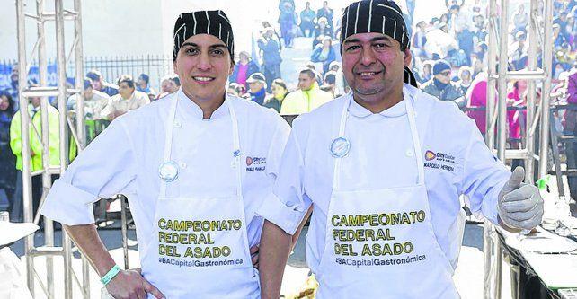 vencedores. Pablo Ramallo Oliva y Marcelo Herrera trabajan juntos hace ocho años en Free Pass