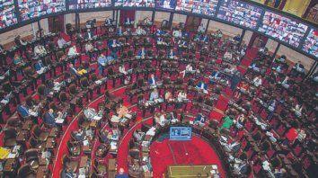 Debate. La Cámara de Diputados dio media sanción al proyecto.