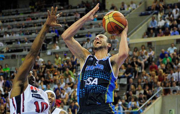 Manu Ginóbili fue el máximo anotador de la Argentina.
