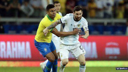 Argentina va a la conquista de América ante Brasil con Messi, Di María y Lo Celso