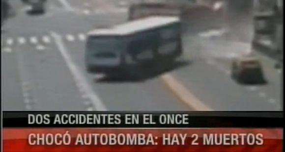 Dos muertos y 18 heridos en impactante accidente múltiple en plaza Miserere
