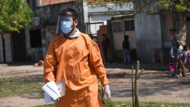 Se reportaron 1.124 nuevos contagios en la provincia y 256 en Rosario