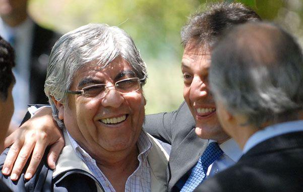 Denuncia. Hugo Moyano se quejó porque el gobierno realiza maniobras en contra de la medida de fuerza.