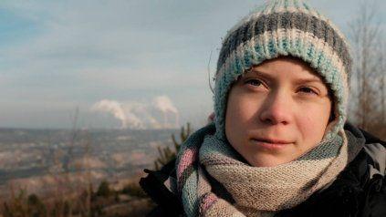 La activista Greta Thunberg le habló a congresistas estadounidenses.
