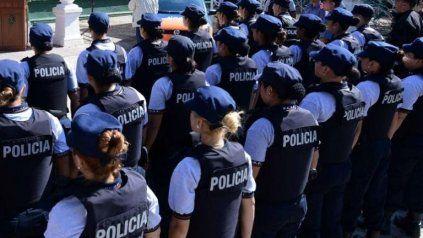 Más allá del incremento en los últimos tiempos, las mujeres siguen siendo minoría en la policía provincial.