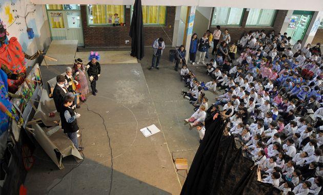 Las autoridades escolares explicaron que se trató de un accidente normal en el recreo. (Foto Archivo F. Guillén)