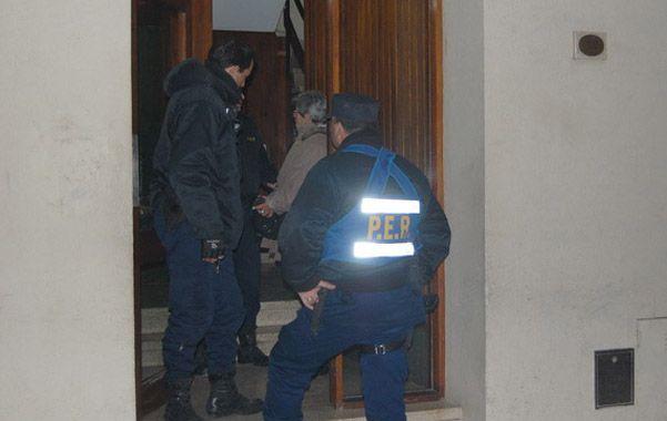 En la habitación. Mario Farabello fue hallado muerto en su departamento. (foto gentileza Diario Uno de Paraná)