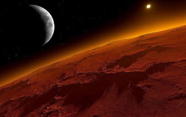 ¿Habitable? Marte figura en los programas de conquista del espacio.