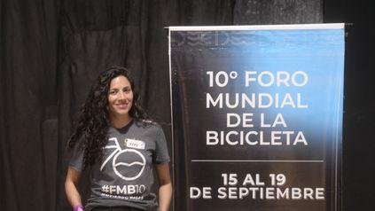 La nueva alcaldesa Jimena Rodríguez.