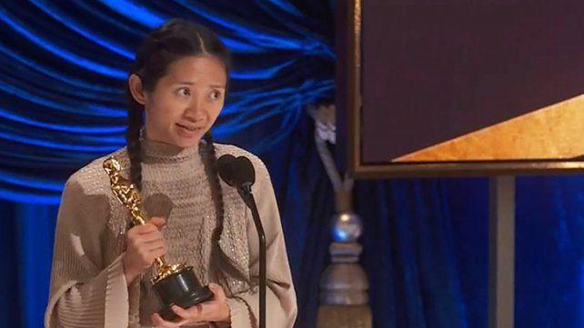 Por segunda vez en la historia, el premio a Mejor Dirección fue a manos de una mujer