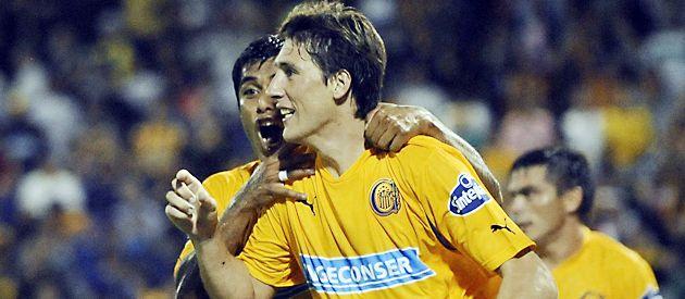 Castillejos es el goleador del equipo canalla.